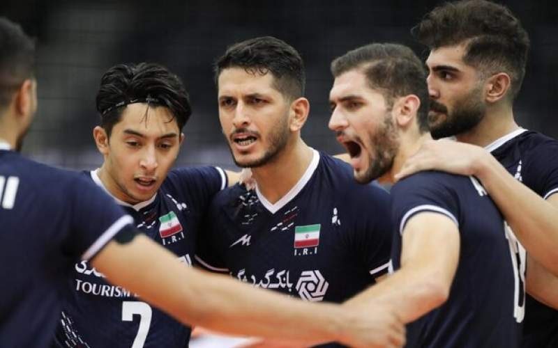 ایران در والیبال قهرمانی آسیا به چین رسید