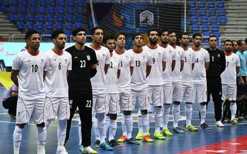 تیم ملی فوتسال برابر آمریکا به پیروزی رسید