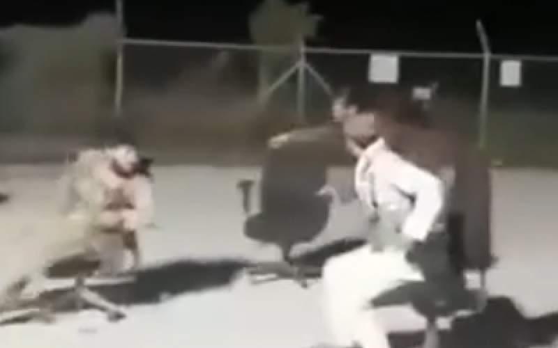 صندلیبازی طالبان در پایگاه بگرام افغانستان
