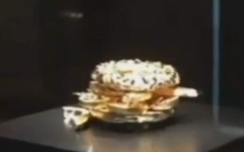 تصاویری از ساندویچ سه میلیون دلاری