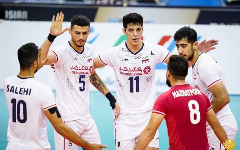 ۵ ایرانی در برترینهای والیبال قهرمانی آسیا