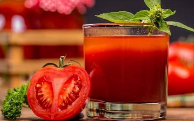 چهار خاصیت شگفتانگیز آب گوجهفرنگی