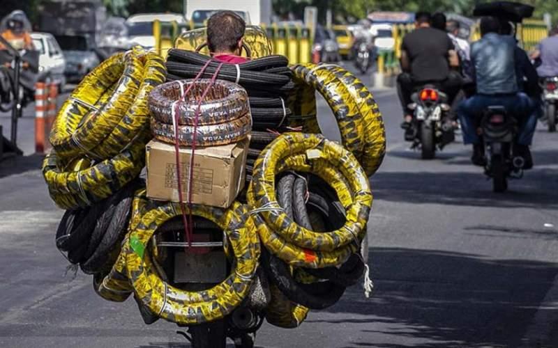دوچرخی که «وسیله امرار معاش» شد