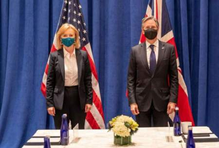 درخواست آمریکا و انگلیس از ایران