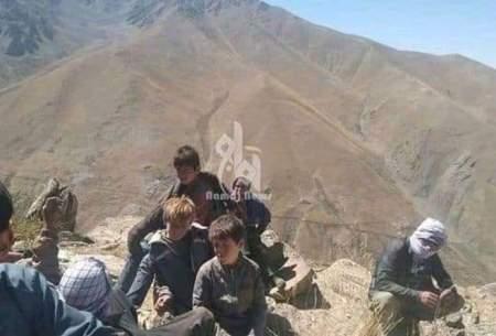 مردم تاجیک (فارسیزبان) پنجشیر آواره در کوهها