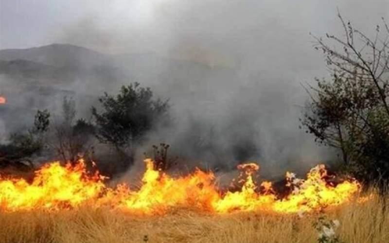 سفیدکوه لرستان در محاصره آتش قرار گرفت