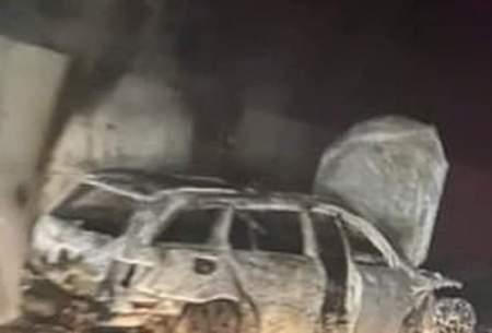 اقدام عجیب تماشاگران عصبی: آتش زدن ماشین داور