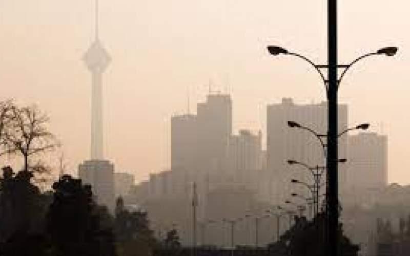 کیفیت هوای ناسالم برای گروههای حساس