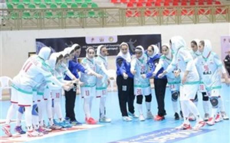 جدال دختران هندبال ایران برای برنز آسیا