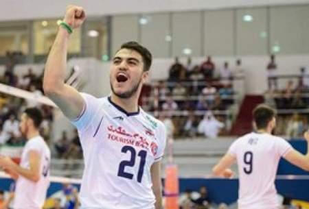 جوانان والیبال ایران محکوم به شکست آرژانتین