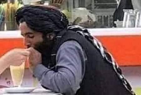 قرار عاشقانه جنگجوی طالبان/عکس