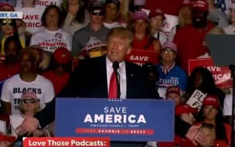 دونالد ترامپ: جو بایدن، آمریکا را ویران کرد