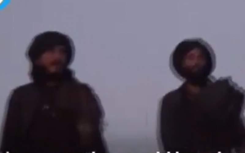 رقص و آواز نیروهای طالبان در غروب آفتاب