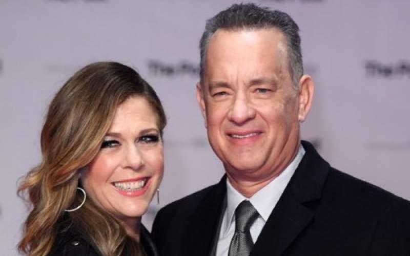 تصویری از تام هنکس و همسرش ریتا ویلسون