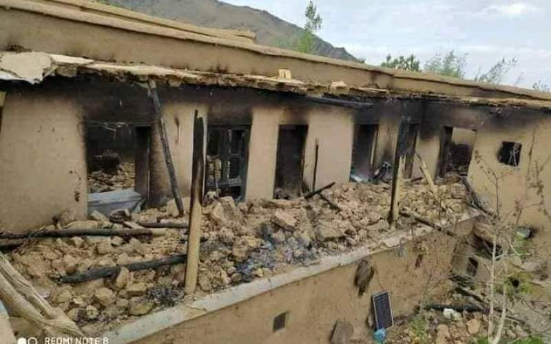 طالبان خانههای شیعیان را آتش زد