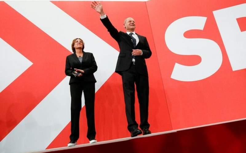 پیشتازی رقیب حزب مرکل درانتخابات آلمان
