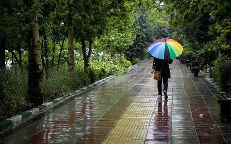 آسمان کدام استانها بارانی میشود؟