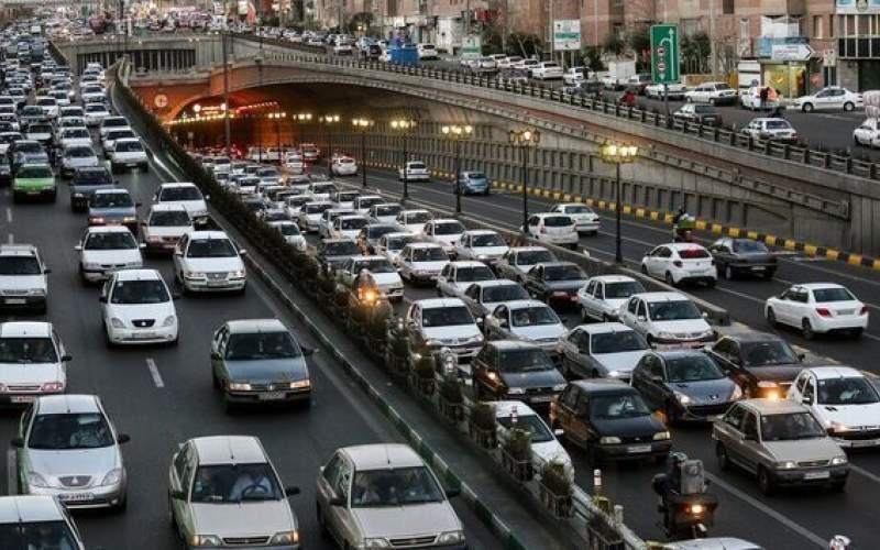 افزایش ترافیک پایتخت در هفته اول مهرماه