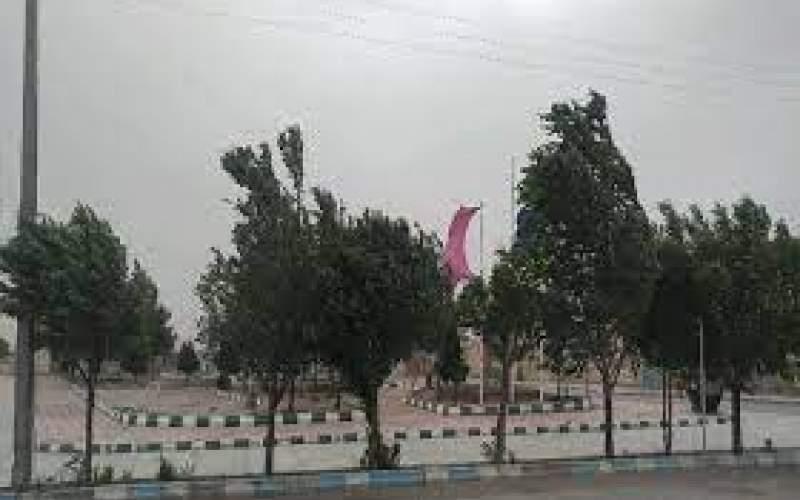 وزش باد شدید در جنوب و غرب تهران