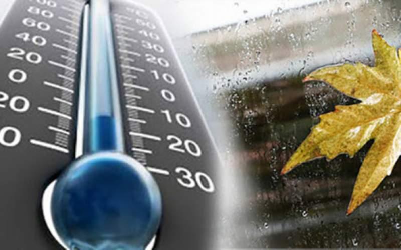 بارش باران و کاهش دما در نوار شمالی کشور