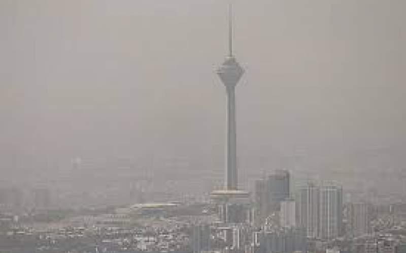 هوای تهران  در شرایط ناسالم قرار دارد