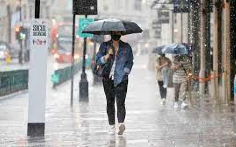 بارش شدید باران در برخی نقاط کشور