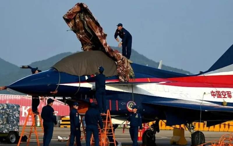 چین قدرت هواییاش را به نمایش گذاشت