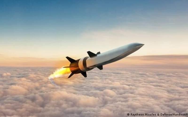 آزمایش یک موشک مافوق صوت ریتیون