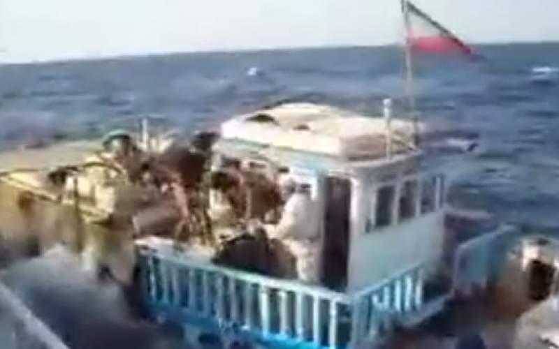 غرقشدن لنج ایرانی با بار ۱۷میلیارد تومانی