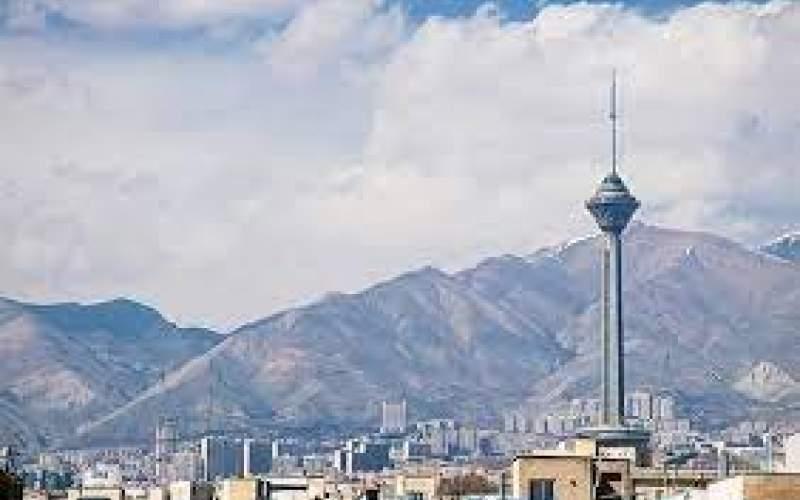 کیفیت هوای تهران در محدوده «قابل قبول»