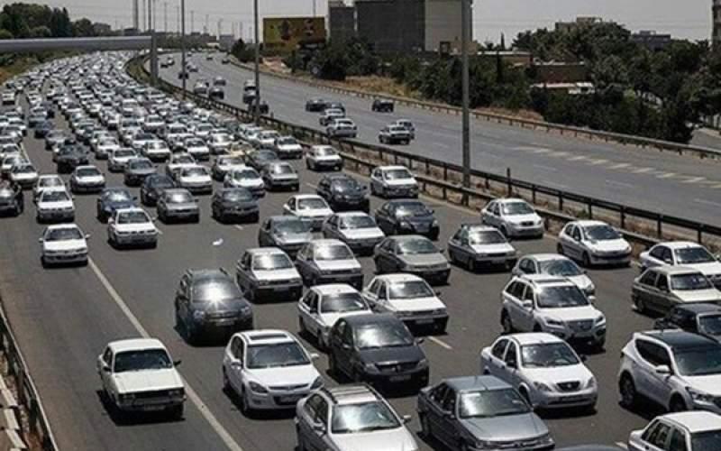 ترافیک سنگین در جادههای شمالی