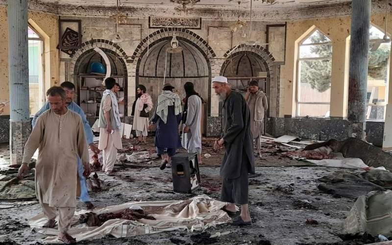 انفجار خونین در مسجد شیعیان در  ولایت قندوز افغانستان