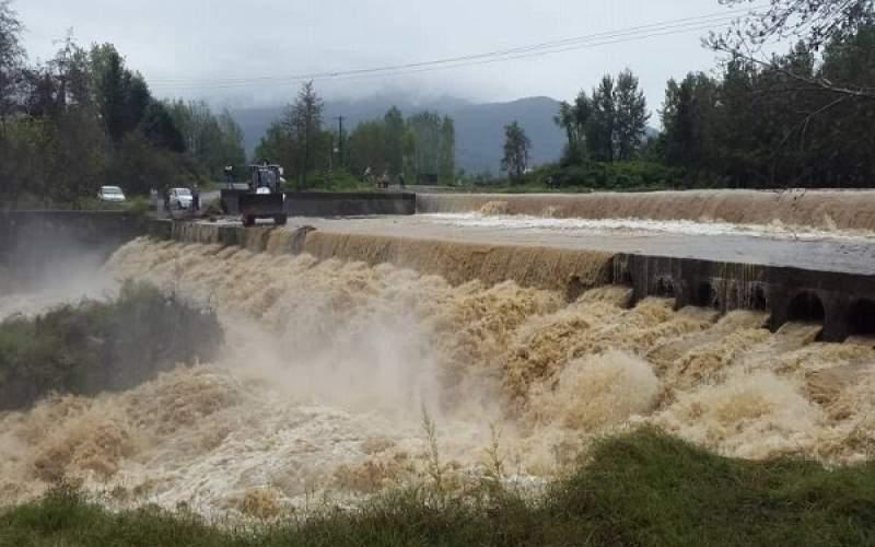 بارش میانگین بارش ۴۶ میلیمتری در گیلان