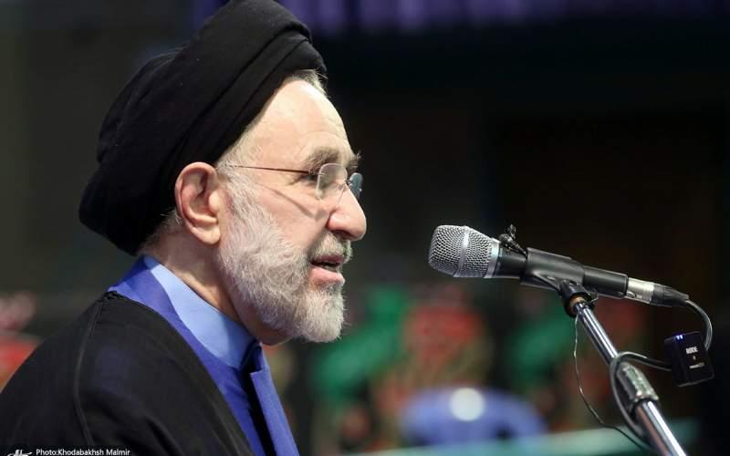 سیدمحمد خاتمی: روح رویکرد علامه حکیمی، مسأله «عدالت» بود