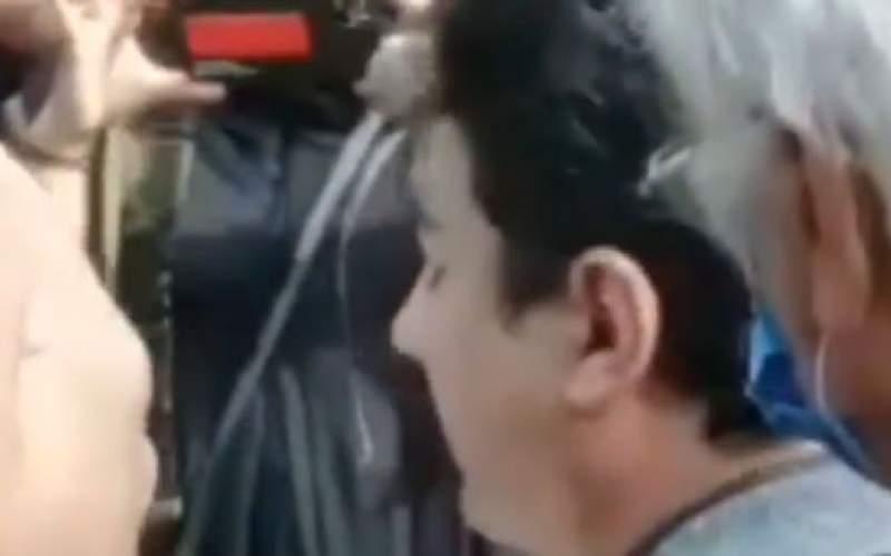 حضور همایون شجریان در آرامگاه استاد آواز ایران