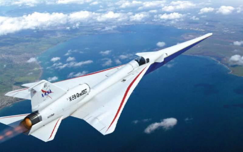 هواپیمای مافوق صوت ساکت و بدون پنجره جلو!