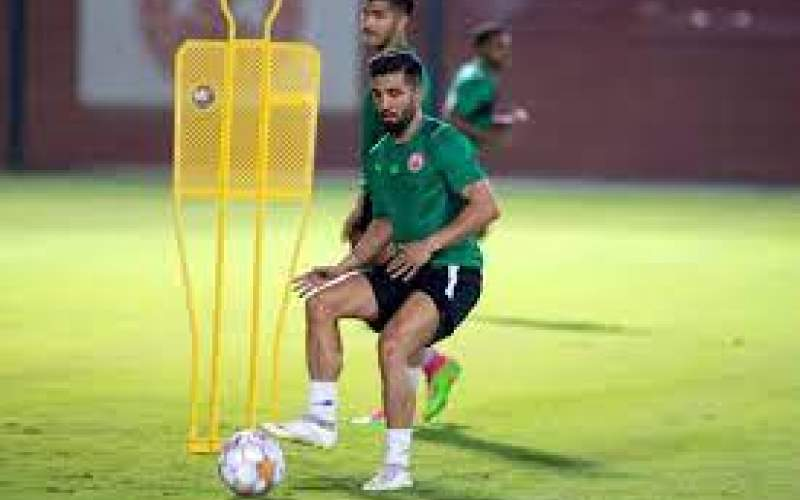 فرشید اسماعیلی در تونل وحشت بازیکنان العربی