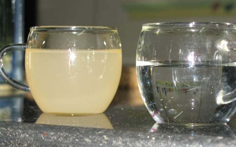 آب شرب شادگان، فاضلاب است