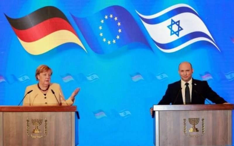 هشدار مرکل به ایران در اسرائیل