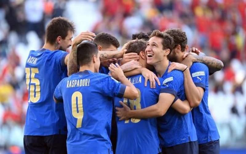 مقام سوم لیگ ملت های ۲۰۲۱ به ایتالیا رسید