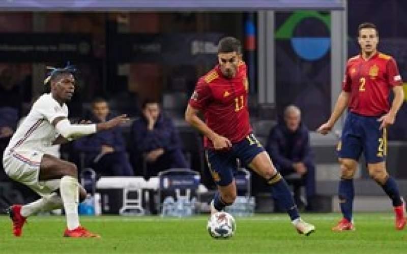فرانسه 2 – 1 اسپانیا؛ امباپه و جبران یورو