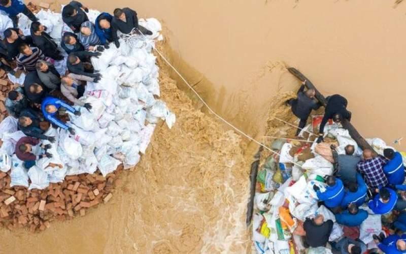 سیل در چین حدود ۲ میلیون نفر را آواره کرد