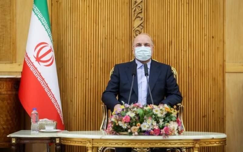 قالیباف: نتیجه هر توافقی باید لغو تحریمها باشد