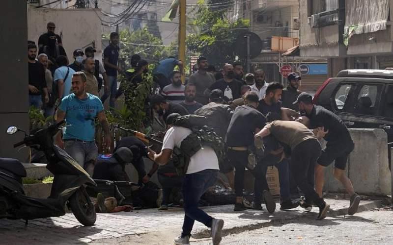 وقوع  اعتراضات خونین در لبنان