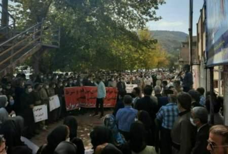 تجمع اعتراضی معلمان و فرهنگیان در دهها شهر ایران
