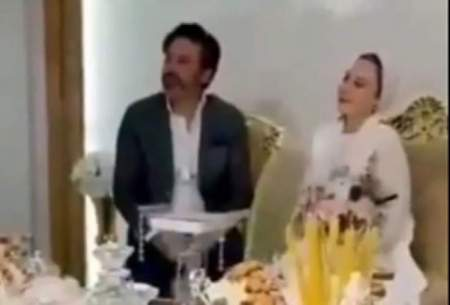 آرام جعفری ازدواج کرد /فیلم