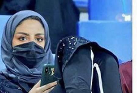 بانوان الهلالی در استادیوم فیصل بن فهد/تصاویر