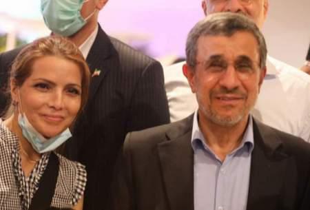 انتقاد از عکسهای یادگاری زنان با احمدینژاد!