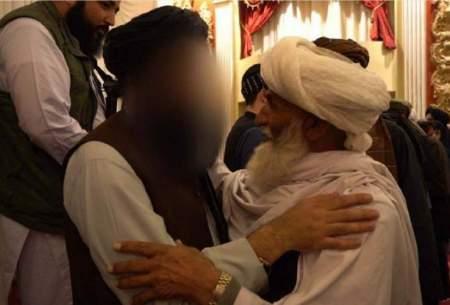 طالبان تصویر وزیر داخله خود را سانسور کرد!