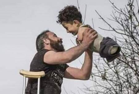 عکس پدر و پسر سوری که جهان را شوکه کرد